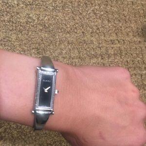 Authentic Gucci bracelet watch